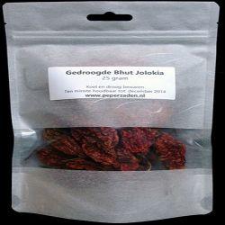 Dried Bhut Jolokia 25 gr